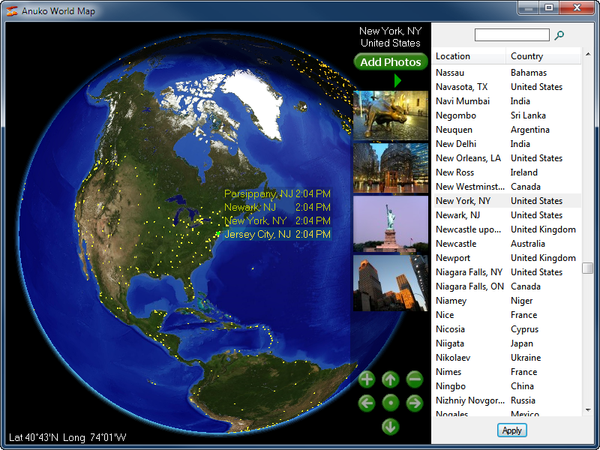 How to configure a clock for a specific timezone select a new location on the world map and click apply gumiabroncs Choice Image