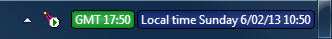 World Clock ignores the \n formatter when there is not enough vertical space