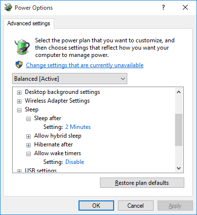 Windows 10 - wake timers are disabled but they still wake computer