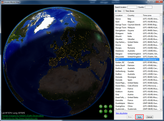 How to create a gmt clock selecting gmt on the world map gumiabroncs Gallery