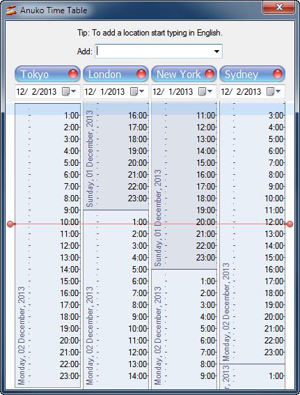 24 hour time chart printable Success