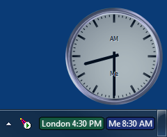 World Clock starts automatically after installation