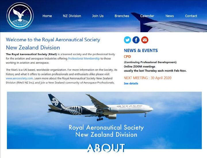 The Royal Aeronautical Society NZ Division