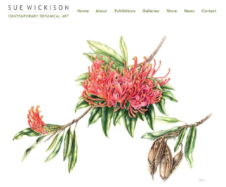 Sue Wickison - Contemporary Botanical Art